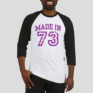 Made in 73 Baseball Jersey