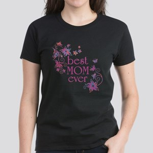 Best Mom Ever 3 Women's Dark T-Shirt