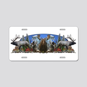Big Game Aluminum License Plate