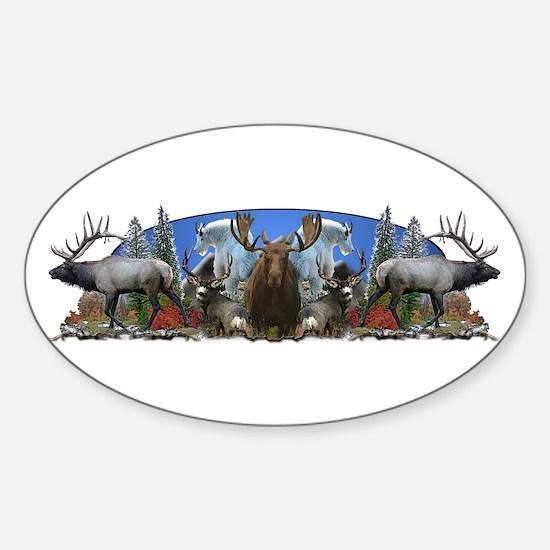 Big Game Sticker (Oval)