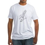 Eagle Totem Fitted T-Shirt
