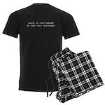 One Hex Clacking Men's Dark Pajamas