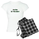 GLUTEN IS THE ENEMY Women's Light Pajamas