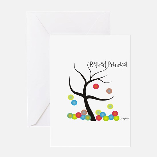 Retired Occupations Greeting Card