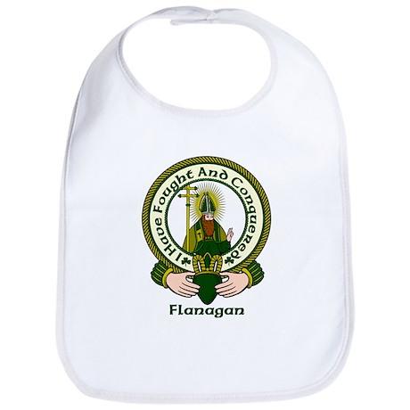 Flanagan Clan Motto Bib