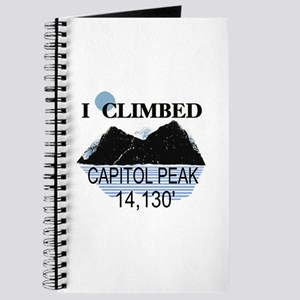 I Climbed Capitol Peak Journal