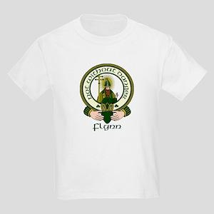 Flynn Clan Motto Kids T-Shirt