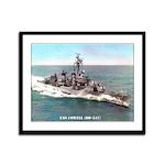 USS COWELL Framed Panel Print