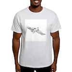 Hawk Totem Ash Grey T-Shirt