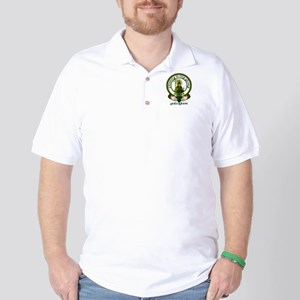 Gallagher Clan Motto Golf Shirt