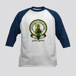Gallagher Clan Motto Kids Baseball Jersey