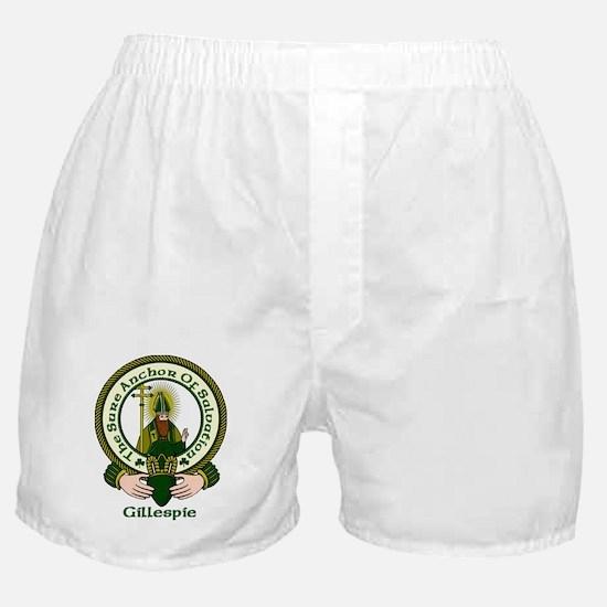 Gillespie Clan Motto Boxer Shorts