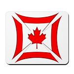 Canadian Biker Cross Mousepad