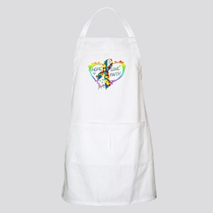 Hope Love Faith Apron