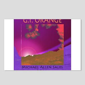 G.I. Orange Postcards (Package of 8)