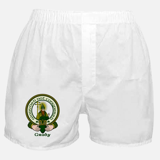 Grady Clan Motto Boxer Shorts