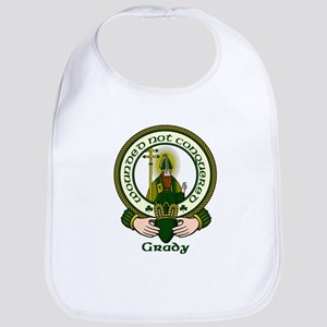 Grady Clan Motto Bib