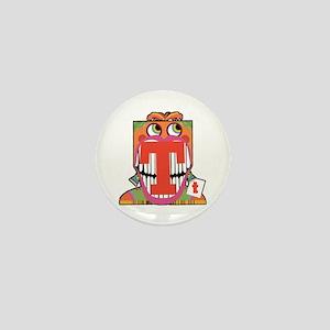 Mister T Mini Button