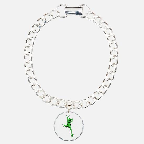 Green Peace Frog Bracelet