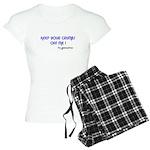KEEP YOUR CRUMBS OFF ME! Women's Light Pajamas