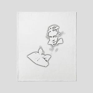 Ludwig Van Beethoven Throw Blanket