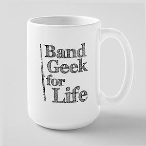 Flute Band Geek Large Mug