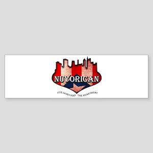 NuYoRicaN Sticker (Bumper)
