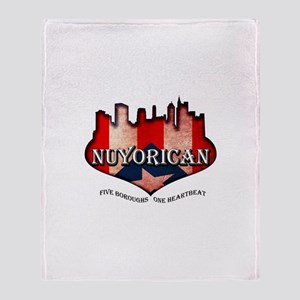 NuYoRicaN Throw Blanket