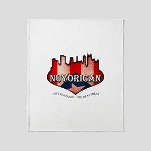 NuYoRicaN Throw Blanket