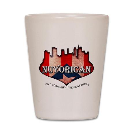 NuYoRicaN Shot Glass