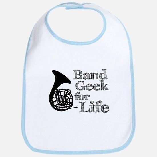 French Horn Band Geek Bib