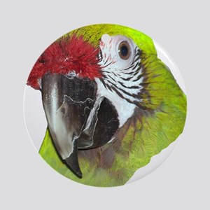 Millitary Macaw Ornament (Round)