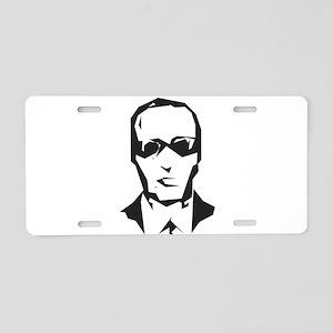 D.B. Cooper in Sunglasses Aluminum License Plate