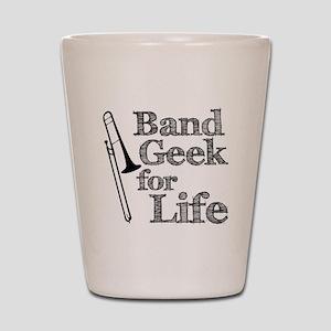 Trombone Band Geek Shot Glass