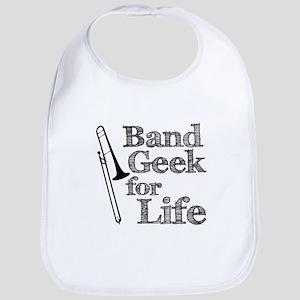Trombone Band Geek Bib