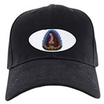 Lady of Guadalupe T3 Black Cap