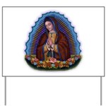 Lady of Guadalupe T3 Yard Sign