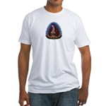 Lady of Guadalupe T3 Fitted T-Shirt