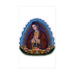 Lady of Guadalupe T3 Sticker (Rectangle 50 pk)