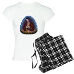 Lady of Guadalupe T3 Women's Light Pajamas