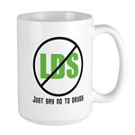 Too Much LDS Large Mug
