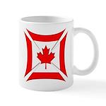 Canadian Biker Cross Coffee Cup