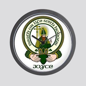 Joyce Clan Motto Wall Clock