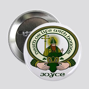 """Joyce Clan Motto 2.25"""" Buttons (10 pack)"""