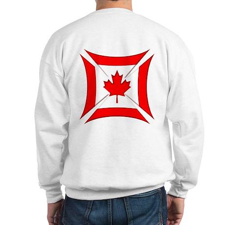 Canadian Biker Cross Sweatshirt