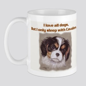 Sleep with Cavs Mug