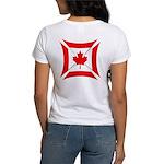 Canadian Biker Cross Women's T-Shirt