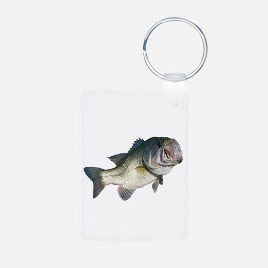 Bass Fisherman Keychains