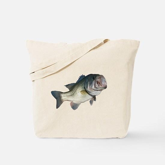 Bass Fisherman Tote Bag
