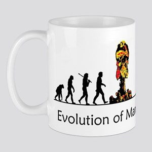 Evolution of Man - Bomb Mug
